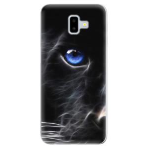 Odolné silikonové pouzdro iSaprio - Black Puma - na mobil Samsung Galaxy J6 Plus