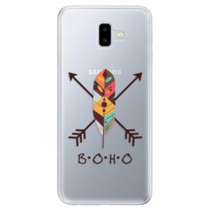 Odolné silikonové pouzdro iSaprio - BOHO - na mobil Samsung Galaxy J6 Plus