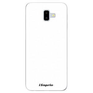 Odolné silikonové pouzdro iSaprio - 4Pure - bílé - na mobil Samsung Galaxy J6 Plus