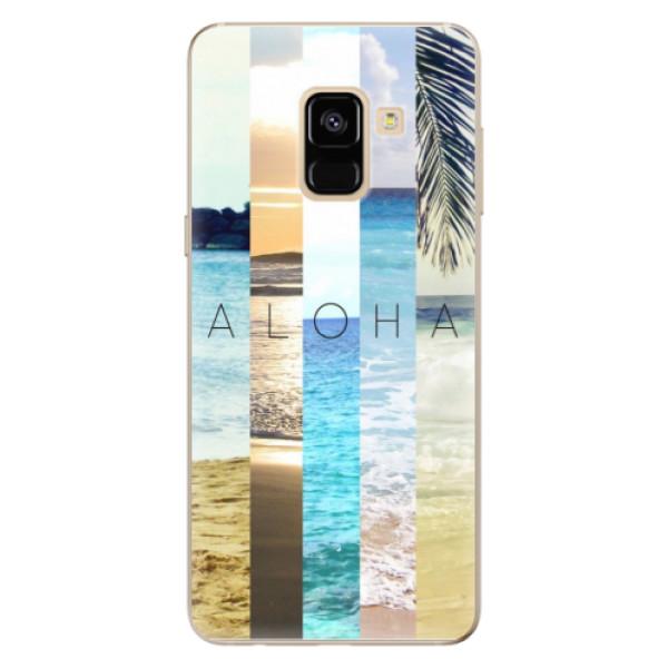 Levně Odolné silikonové pouzdro iSaprio - Aloha 02 - Samsung Galaxy A8 2018