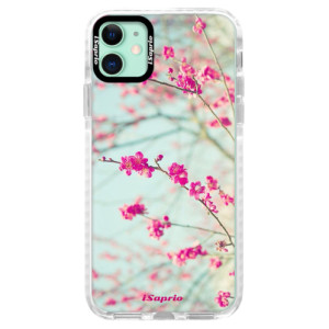 Silikonové pouzdro Bumper iSaprio - Blossom 01 na mobil Apple iPhone 11