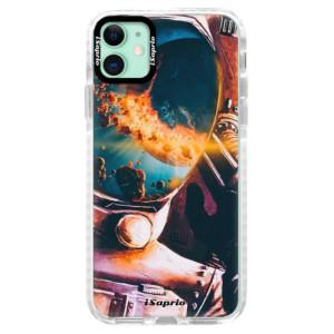 Silikonové pouzdro Bumper iSaprio - Astronaut 01 na mobil Apple iPhone 11