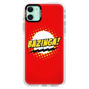 Silikonové pouzdro Bumper iSaprio - Bazinga 01 na mobil Apple iPhone 11