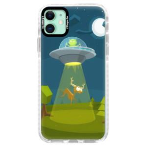 Silikonové pouzdro Bumper iSaprio - Alien 01 na mobil Apple iPhone 11