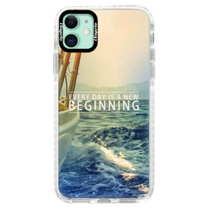 Silikonové pouzdro Bumper iSaprio - Beginning na mobil Apple iPhone 11