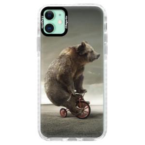 Silikonové pouzdro Bumper iSaprio - Bear 01 na mobil Apple iPhone 11
