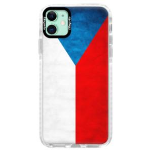 Silikonové pouzdro Bumper iSaprio - Czech Flag na mobil Apple iPhone 11