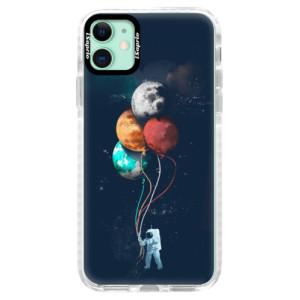 Silikonové pouzdro Bumper iSaprio - Balloons 02 na mobil Apple iPhone 11