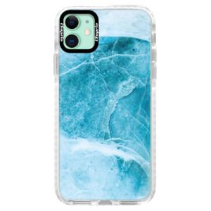 Silikonové pouzdro Bumper iSaprio - Blue Marble na mobil Apple iPhone 11