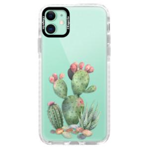 Silikonové pouzdro Bumper iSaprio - Cacti 01 na mobil Apple iPhone 11