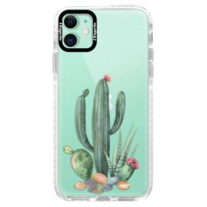 Silikonové pouzdro Bumper iSaprio - Cacti 02 na mobil Apple iPhone 11