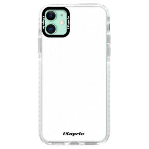 Silikonové pouzdro Bumper iSaprio - 4Pure - bílé na mobil Apple iPhone 11
