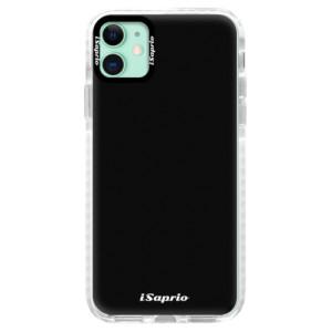 Silikonové pouzdro Bumper iSaprio - 4Pure - černé na mobil Apple iPhone 11