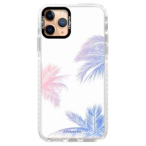 Silikonové pouzdro Bumper iSaprio - Digital Palms 10 na mobil Apple iPhone 11 Pro