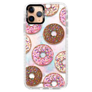 Silikonové pouzdro Bumper iSaprio - Donuts 11 na mobil Apple iPhone 11 Pro