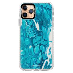 Silikonové pouzdro Bumper iSaprio - BlueMarble 15 na mobil Apple iPhone 11 Pro