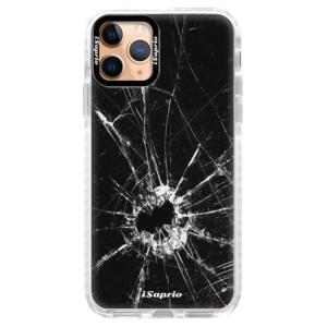 Silikonové pouzdro Bumper iSaprio - Broken Glass 10 na mobil Apple iPhone 11 Pro