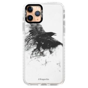 Silikonové pouzdro Bumper iSaprio - Dark Bird 01 na mobil Apple iPhone 11 Pro