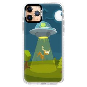 Silikonové pouzdro Bumper iSaprio - Alien 01 na mobil Apple iPhone 11 Pro