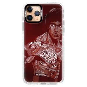 Silikonové pouzdro Bumper iSaprio - Bruce Lee na mobil Apple iPhone 11 Pro