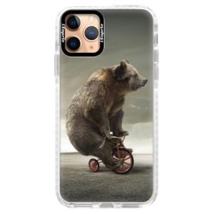 Silikonové pouzdro Bumper iSaprio - Bear 01 na mobil Apple iPhone 11 Pro