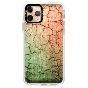 Silikonové pouzdro Bumper iSaprio - Cracked Wall 01 na mobil Apple iPhone 11 Pro