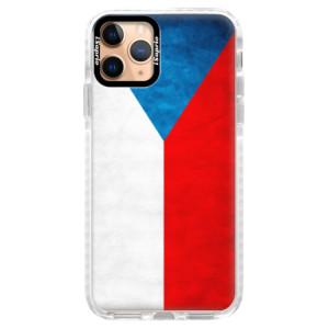 Silikonové pouzdro Bumper iSaprio - Czech Flag na mobil Apple iPhone 11 Pro