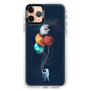 Silikonové pouzdro Bumper iSaprio - Balloons 02 na mobil Apple iPhone 11 Pro