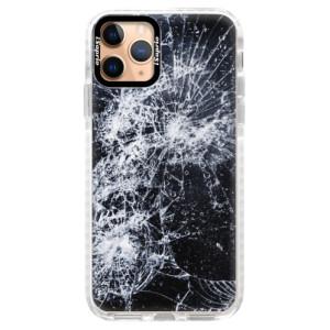Silikonové pouzdro Bumper iSaprio - Cracked na mobil Apple iPhone 11 Pro