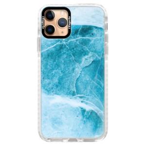 Silikonové pouzdro Bumper iSaprio - Blue Marble na mobil Apple iPhone 11 Pro