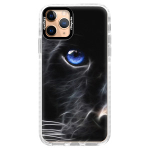 Silikonové pouzdro Bumper iSaprio - Black Puma na mobil Apple iPhone 11 Pro