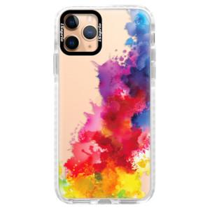Silikonové pouzdro Bumper iSaprio - Color Splash 01 na mobil Apple iPhone 11 Pro