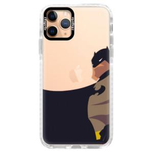 Silikonové pouzdro Bumper iSaprio - BaT Comics na mobil Apple iPhone 11 Pro