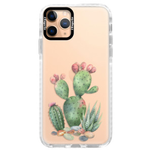 Silikonové pouzdro Bumper iSaprio - Cacti 01 na mobil Apple iPhone 11 Pro