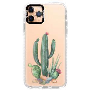 Silikonové pouzdro Bumper iSaprio - Cacti 02 na mobil Apple iPhone 11 Pro