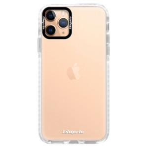 Silikonové pouzdro Bumper iSaprio - 4Pure - čiré bez potisku na mobil Apple iPhone 11 Pro