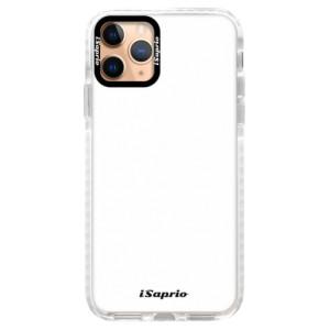 Silikonové pouzdro Bumper iSaprio - 4Pure - bílé na mobil Apple iPhone 11 Pro