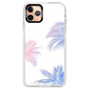 Silikonové pouzdro Bumper iSaprio - Digital Palms 10 na mobil Apple iPhone 11 Pro Max