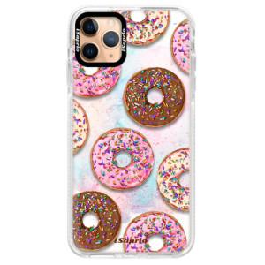 Silikonové pouzdro Bumper iSaprio - Donuts 11 na mobil Apple iPhone 11 Pro Max