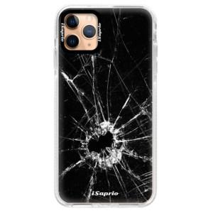 Silikonové pouzdro Bumper iSaprio - Broken Glass 10 na mobil Apple iPhone 11 Pro Max