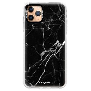 Silikonové pouzdro Bumper iSaprio - Black Marble 18 na mobil Apple iPhone 11 Pro Max