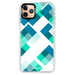 Silikonové pouzdro Bumper iSaprio - Abstract Squares 11 na mobil Apple iPhone 11 Pro Max