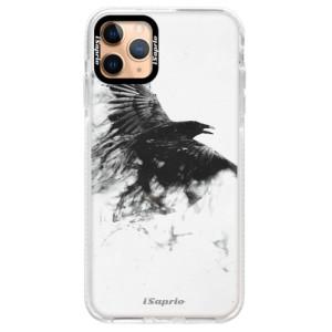 Silikonové pouzdro Bumper iSaprio - Dark Bird 01 na mobil Apple iPhone 11 Pro Max