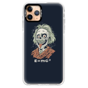 Silikonové pouzdro Bumper iSaprio - Einstein 01 na mobil Apple iPhone 11 Pro Max