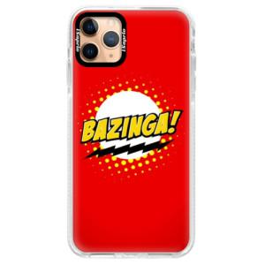 Silikonové pouzdro Bumper iSaprio - Bazinga 01 na mobil Apple iPhone 11 Pro Max