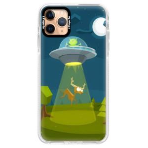 Silikonové pouzdro Bumper iSaprio - Alien 01 na mobil Apple iPhone 11 Pro Max