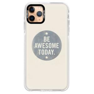 Silikonové pouzdro Bumper iSaprio - Awesome 02 na mobil Apple iPhone 11 Pro Max