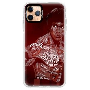 Silikonové pouzdro Bumper iSaprio - Bruce Lee na mobil Apple iPhone 11 Pro Max