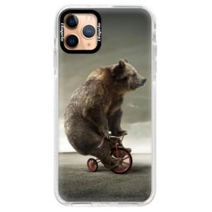 Silikonové pouzdro Bumper iSaprio - Bear 01 na mobil Apple iPhone 11 Pro Max