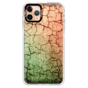Silikonové pouzdro Bumper iSaprio - Cracked Wall 01 na mobil Apple iPhone 11 Pro Max